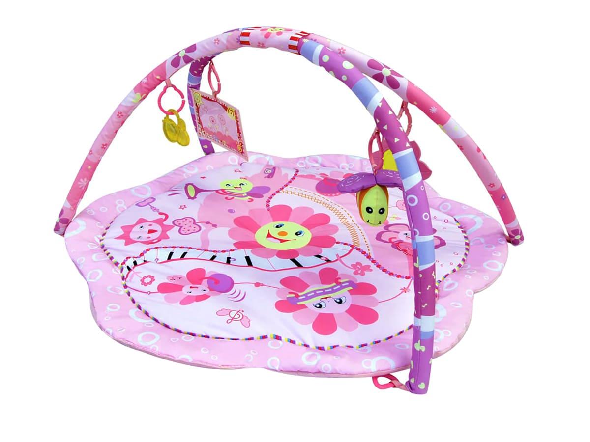 Tapete Bebê de Atividades Rosa Magico Color Baby