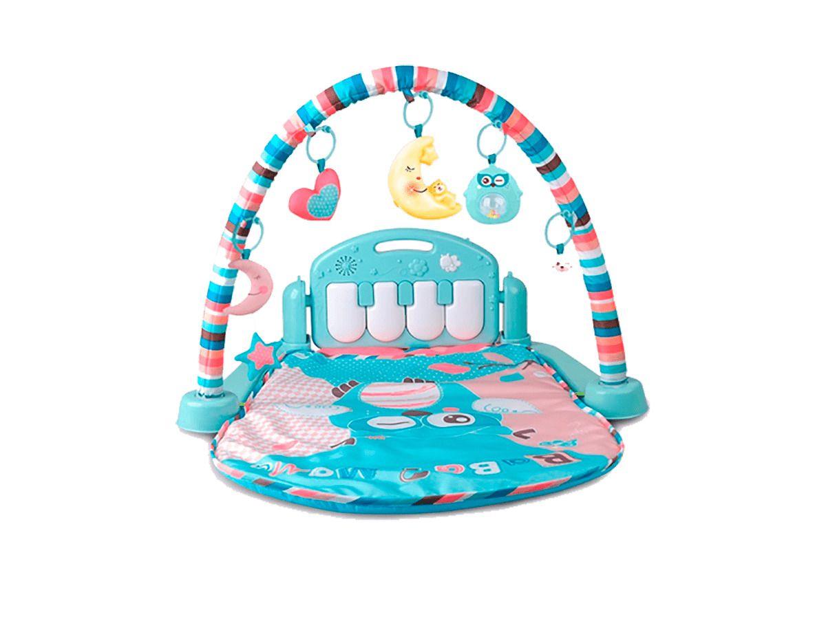 Tapete de Atividades Portátil Para Bebê Piano Musical