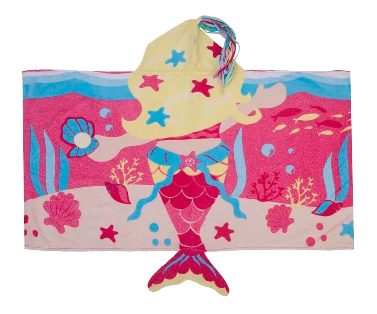 Toalha Infantil 3D Super Funny - Sereia