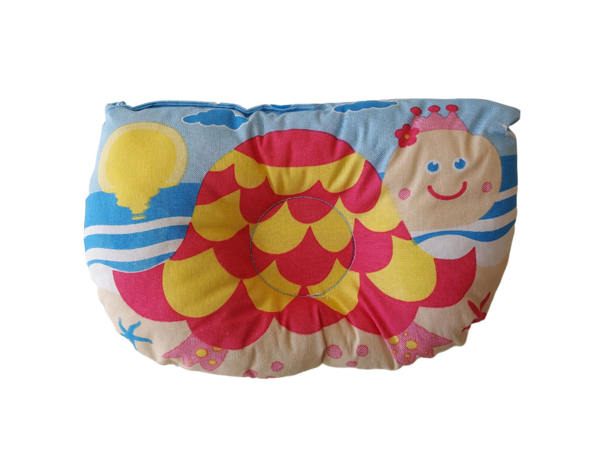Travesseiro Anatômico Bebê Estampa Tartaruga