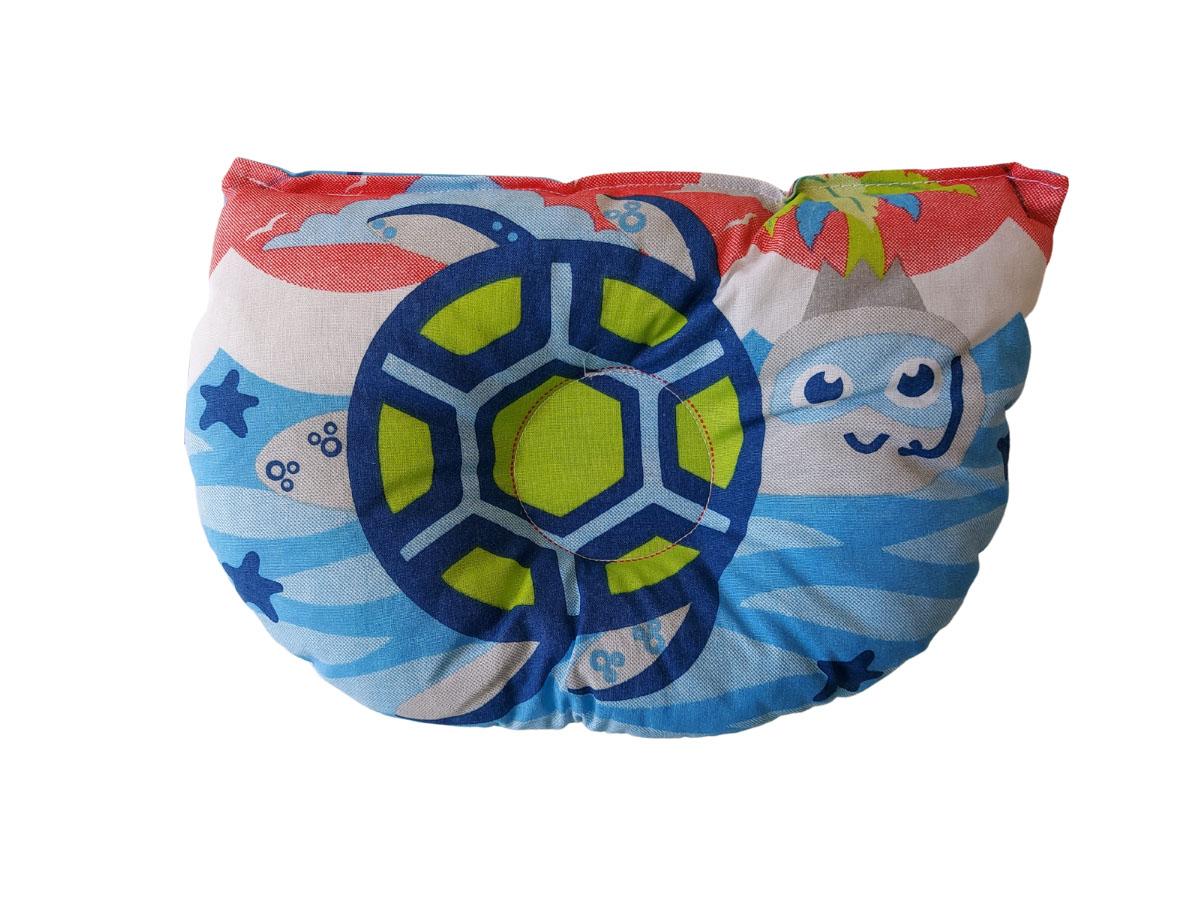 Travesseiro Anatômico Bebê Menino Tartaruga