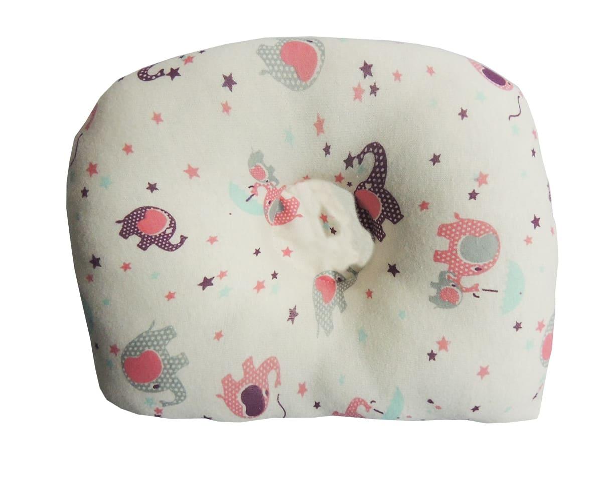 Travesseiro Anatômico Estampa de Elefantes