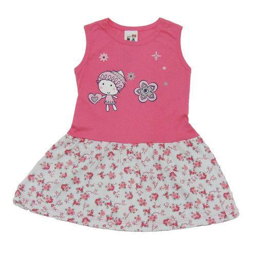 Vestido Regata Bebê Menina
