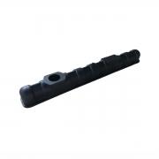 Caixa de Radiador Inferior Ford Escort Hobby / Verona Cebolão Aberto 35mmx323mm
