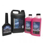 Kit Limpeza Completa no Sistema de Arrefecimento Protect Water + Limpa Radiador + Aditivo Orgânico