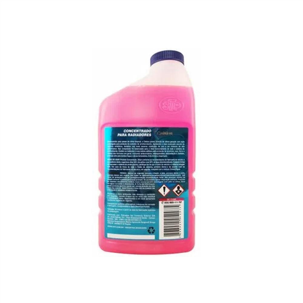 Aditivo Concentrado Para Radiadores Orgânico Rosa 1Lt - STP Celsius