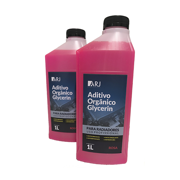 Aditivo Orgânico Glycerin Rosa Arj 1lt