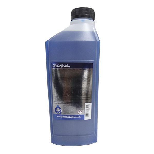 Aditivo Orgânico Universal Química Azul 1Lt Kit Com 12 Unidades