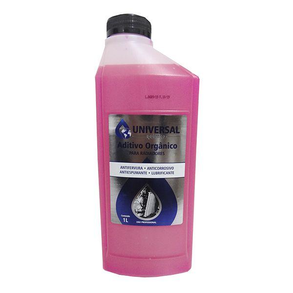 Aditivo Orgânico Universal Química Rosa 1Lt Kit Com 12 unidades