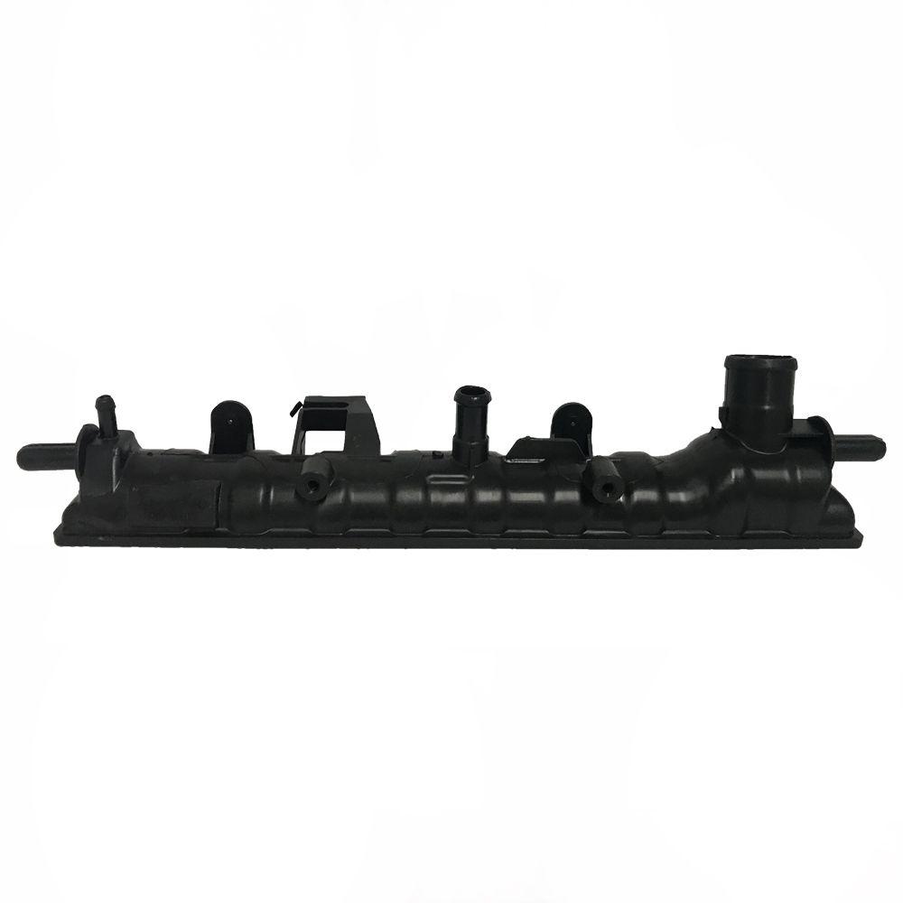 Caixa de Radiador Ford Escort / Volkswagen Logus Pointer Com Ar Com Bico 60mmx380mm