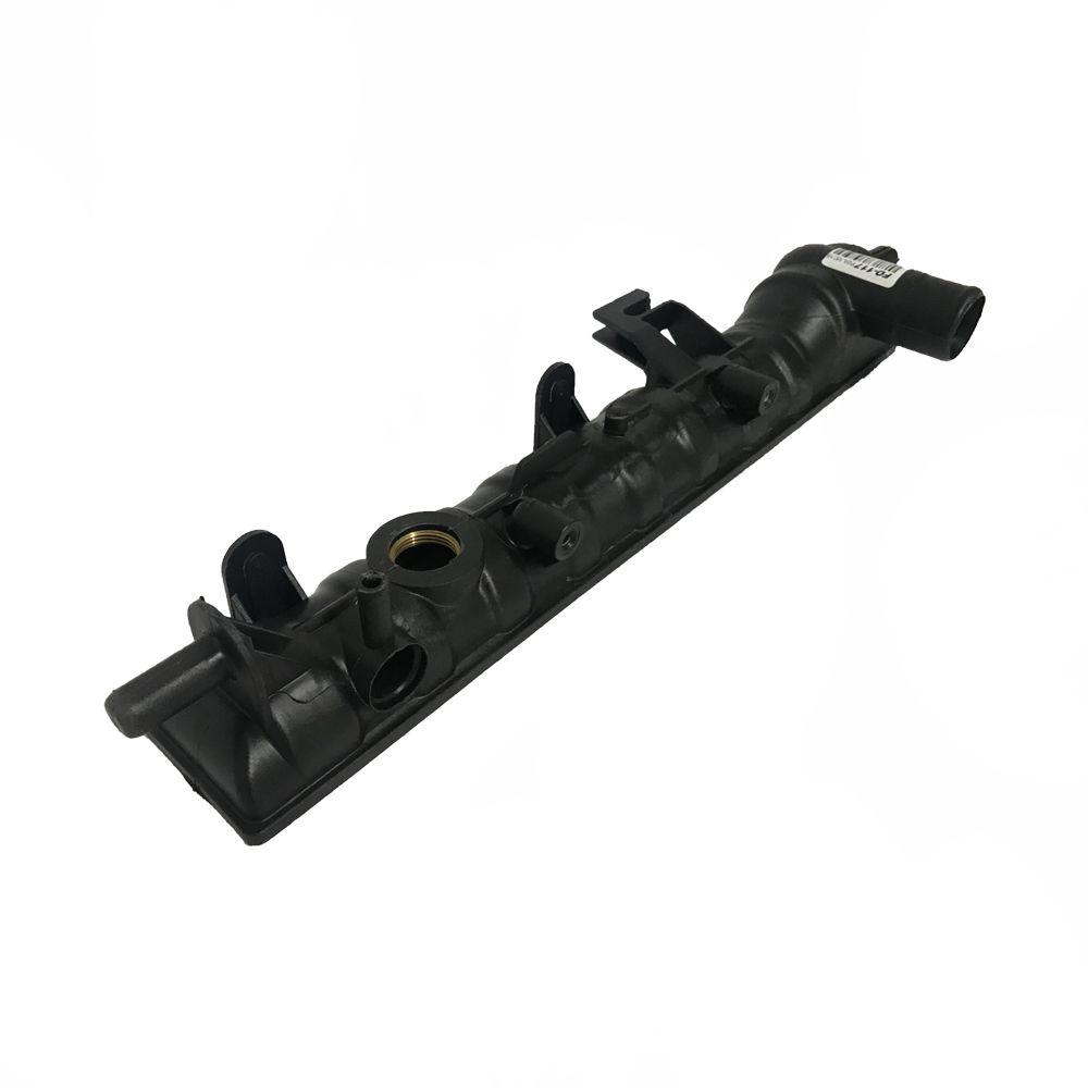 Caixa de Radiador Ford Escort / Volkswagen Logus Pointer Com Ar Cebolão Aberto 60mmx380mm