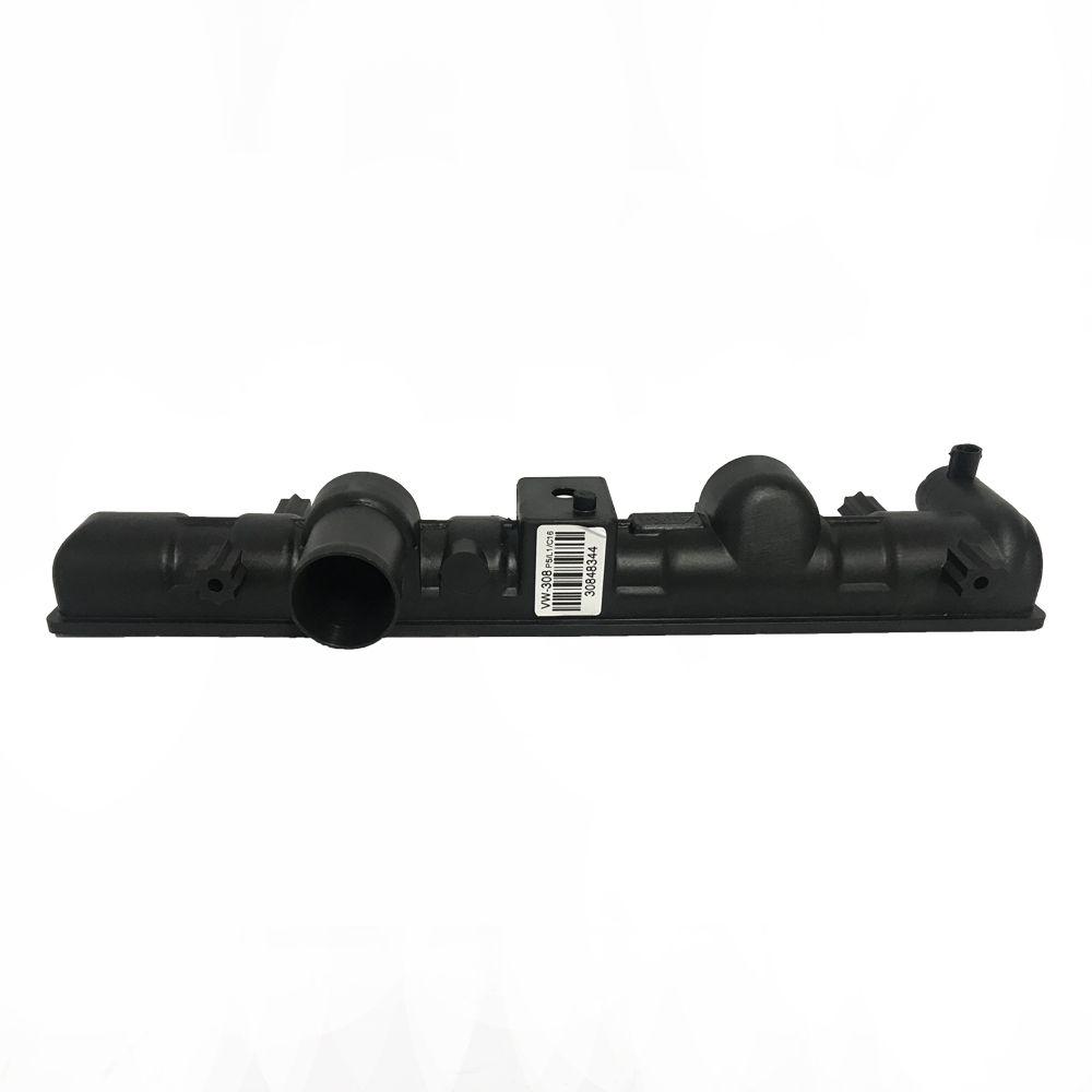 Caixa de Radiador Gol Visconde Inferior Sem Cano 48mmx344mm