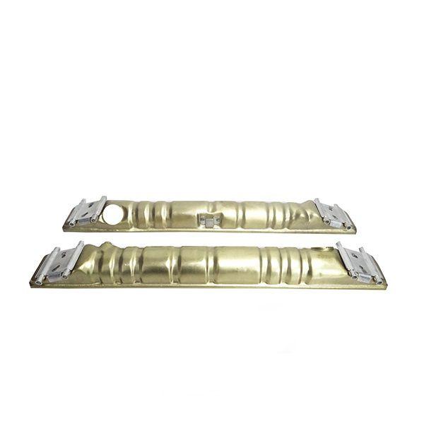 Conjunto de Caixa de Radiador Mercedes Kit1215C Cara Chata 451X623