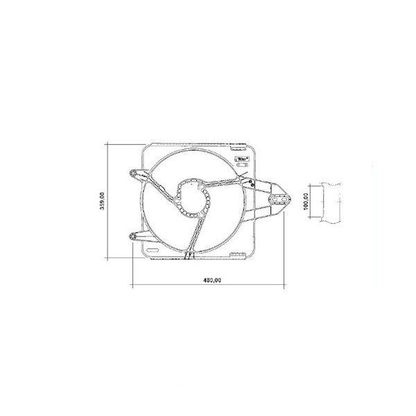 Defletor Fiat Palio 1.0 Sem Ar