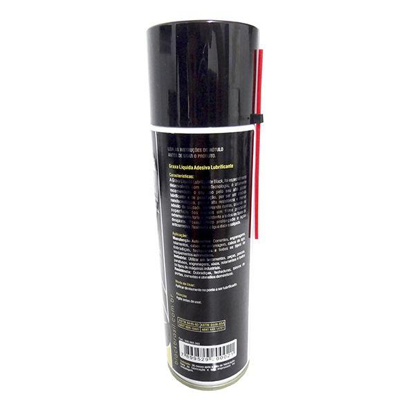 Graxa Liquida Adesiva 300ml Black Brasil Kit Com 12 Unidades