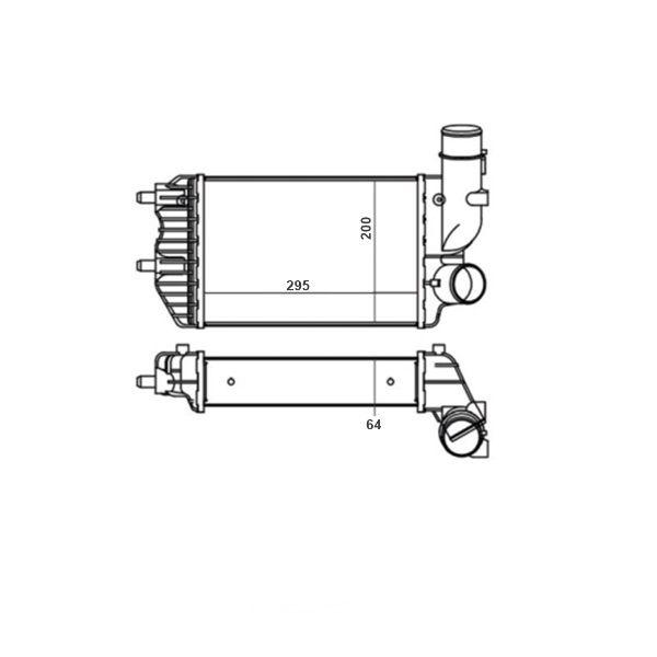 Intercooler Citroen Jumper Fiat Ducato Peugeot Boxer 2.8 Com Ar / Sem Ar 1994 a 2017