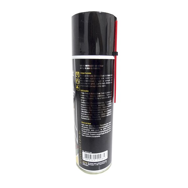 Limpa Contato Eletrico 300ml Black Brasil Kit Com 12 unidades