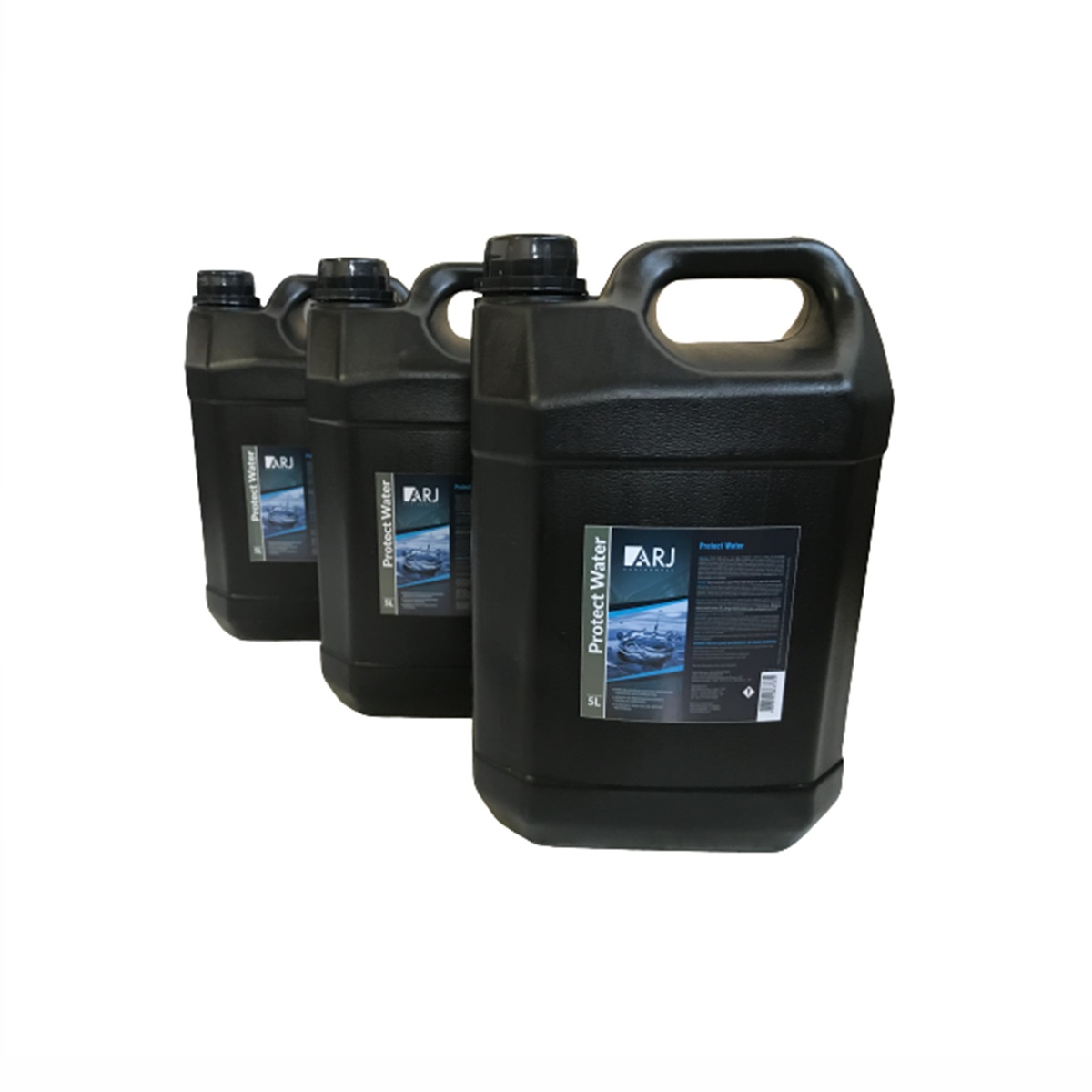 Protect Water Água Desmineralizada Arj 5lts Kit Com 3 Unidades