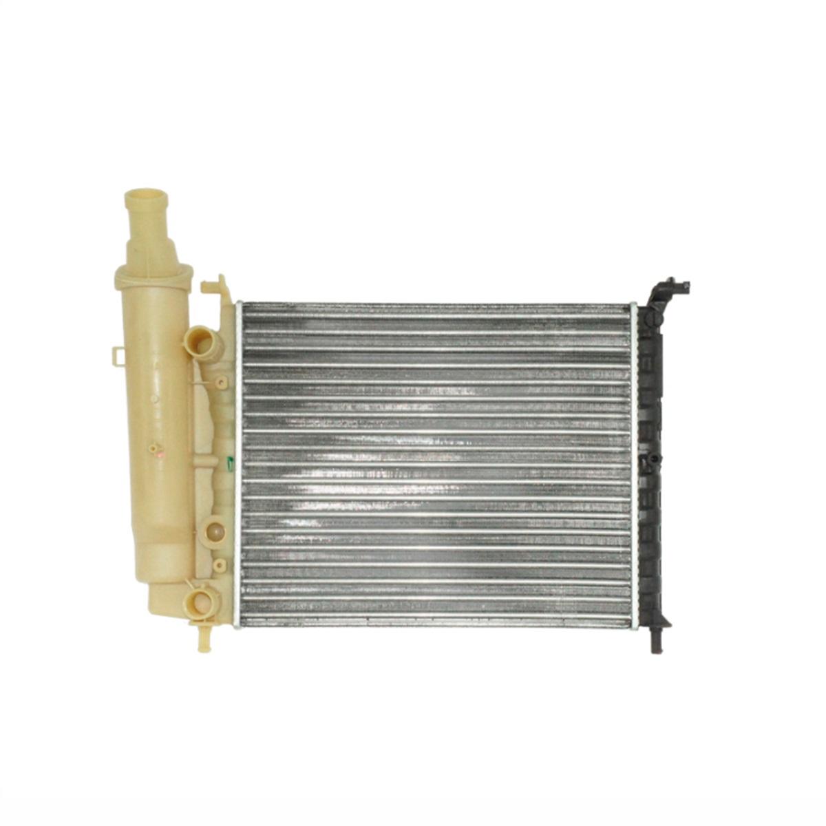 Radiador de Água Fiat Palio 1998/2002 Gasolina 1996/2002, Siena 1998/2002 S/AR Manual C/Reservatório