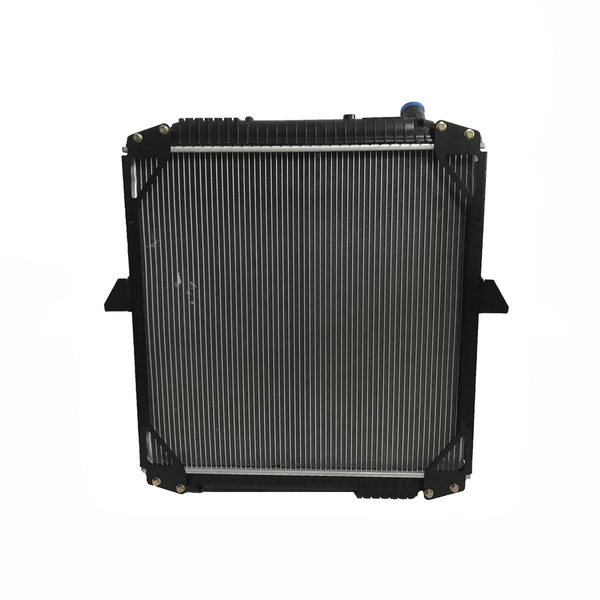 Radiador de Água Mercedes Benz L1622 (OF1722) 617X616X47 - 2-952 / 1620 Eletronico