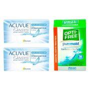 Kit 2 caixas de Lentes de Contato Acuvue Oasys Astigmatismo + Brinde