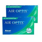 Kit 2 caixas Lentes de Contato Air Optix Plus HydraGlyde Astigmatismo
