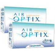 Kit com 2 caixas de Lentes Air Optix Aqua