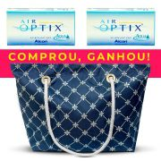 Kit com 2 caixas de Lentes Air Optix Aqua + brinde