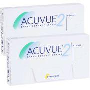 Kit com 2 caixas: Lentes de Contato Acuvue 2