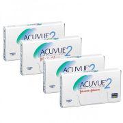 Kit de Lentes de Contato com 4 caixas: Acuvue 2