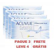 Kit de Lentes de Contato com 4 caixas: Acuvue Oasys