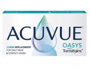 Lente de Contato Acuvue Oasys with Transitions