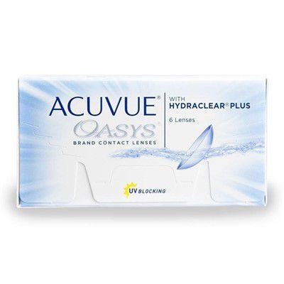 1f53ac87dc867 Lente de Contato Acuvue Oasys Com Hydraclear Plus