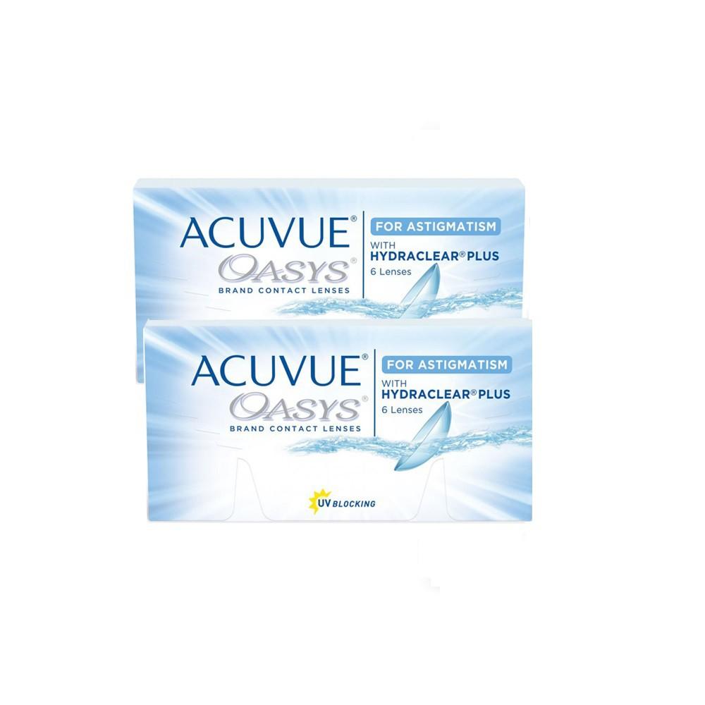 Kit 2 caixas de Lentes de Contato Acuvue Oasys Astigmatismo