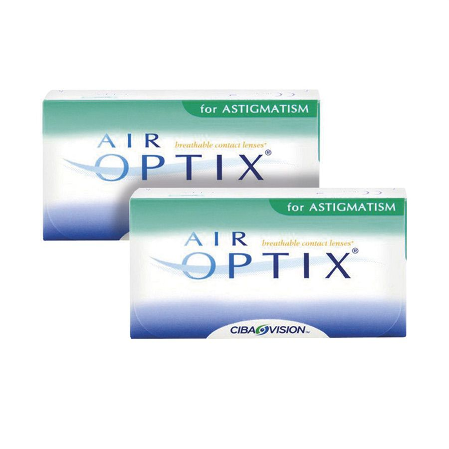 56a61efb9a Kit 2 caixas Lentes de Contato Air Optix Astigmatismo Visolux Web ...