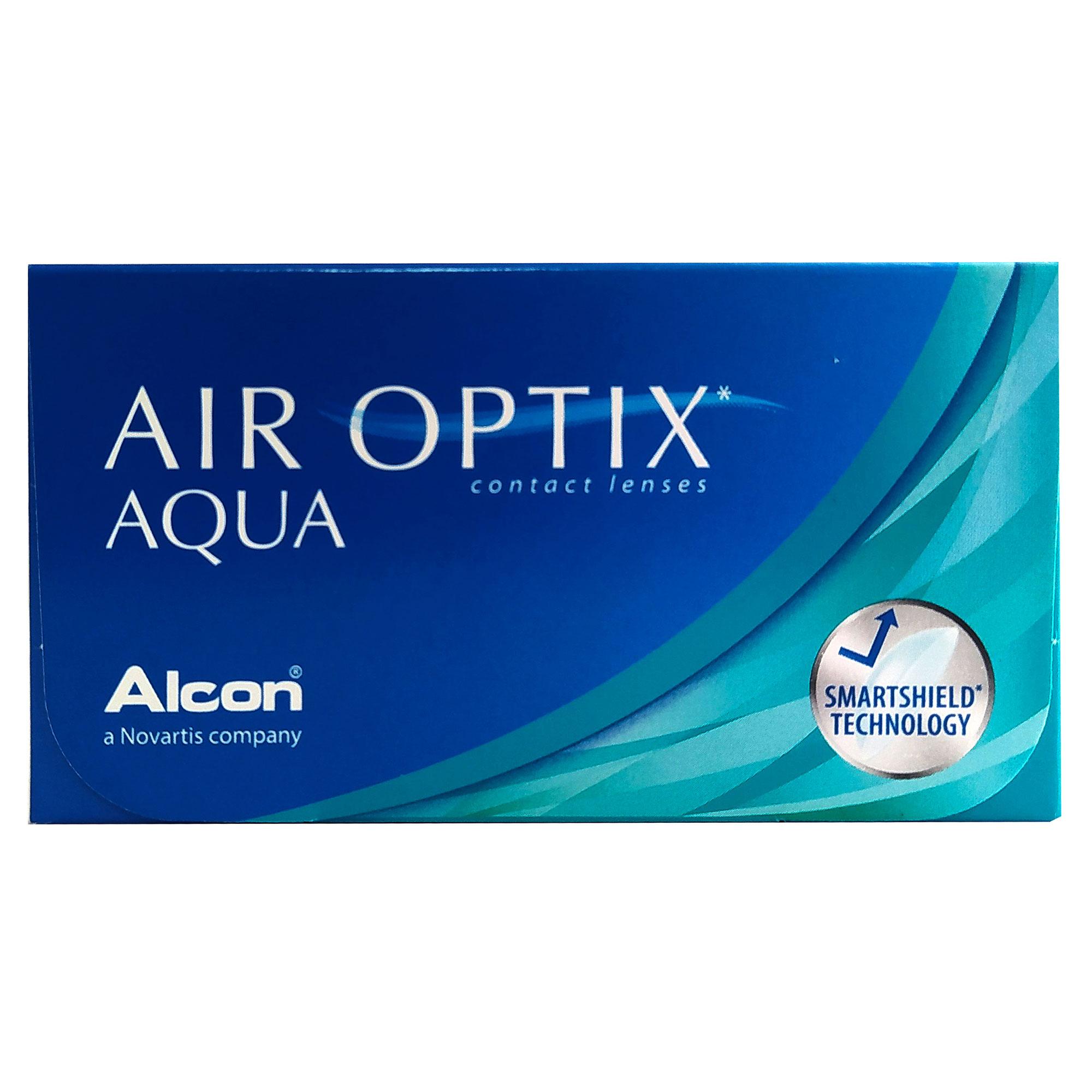 Kit com 2 caixas de Lentes Air Optix Aqua