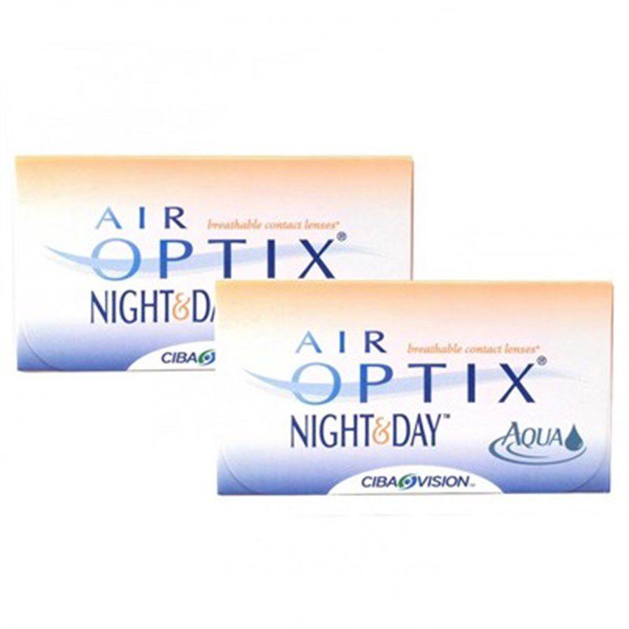 b28c7973faaec Kit com 2 caixas de Lentes de Contato Night   Day Aqua Air Optix ...