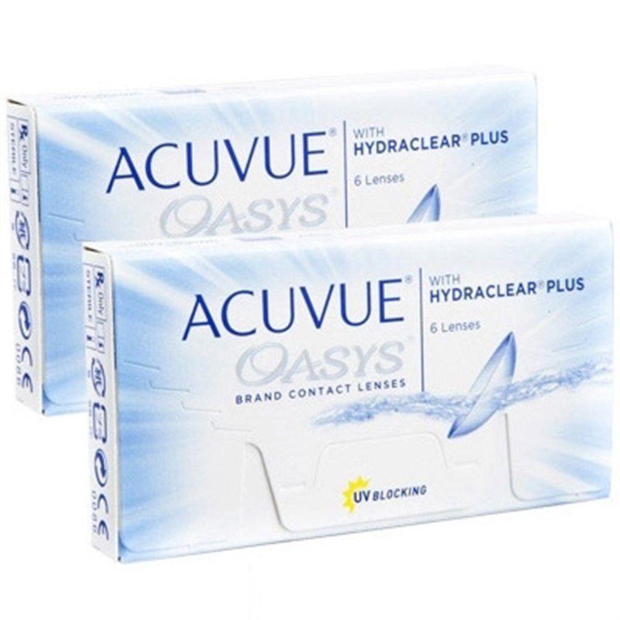 Kit de Lentes de Contato com 2 caixas: Acuvue Oasys