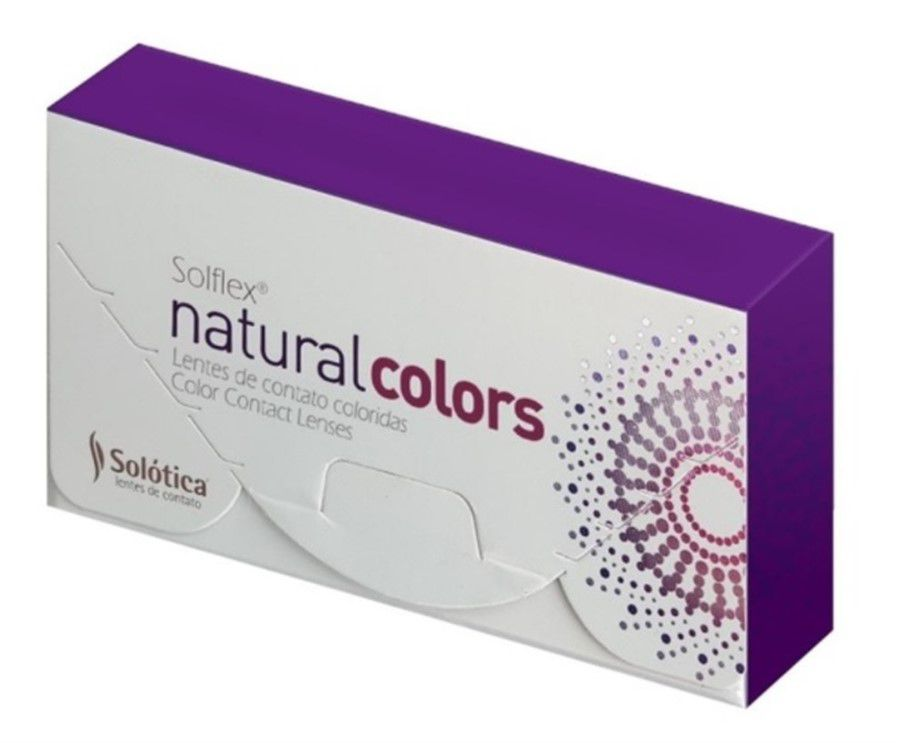 Lentes de Contato com Grau SOLFLEX NATURAL COLORS Solótica