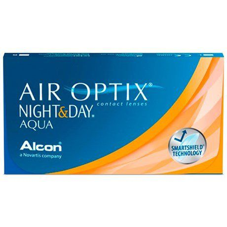 Lentes de Contato Night & Day Aqua Air Optix