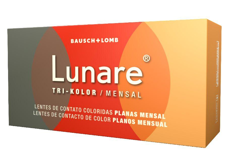 Lunare Tri Kolor Mensal - Lentes sem Grau