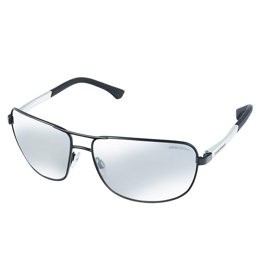 7f8ca960bdf1a Óculos de Sol Emporio Armani EA2033 Metal Masculino Visolux Web ...