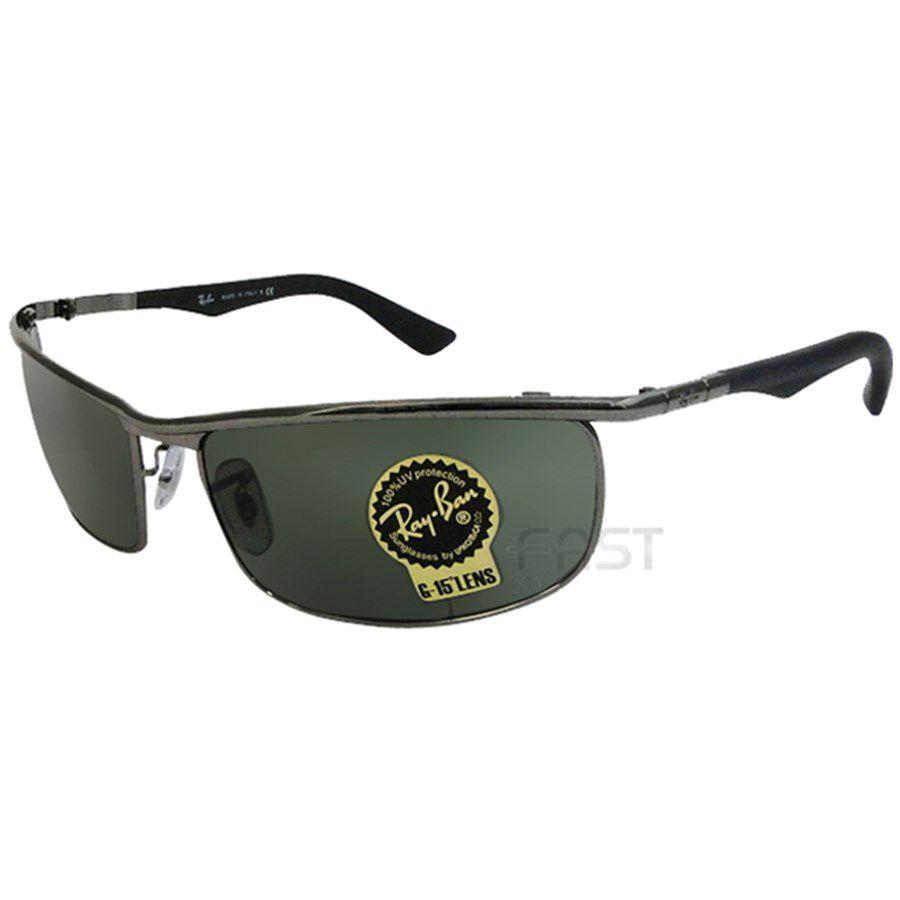 a940bcb6b Óculos de Sol Ray Ban RB3459 Metal Unissex Visolux Web - Lentes de ...