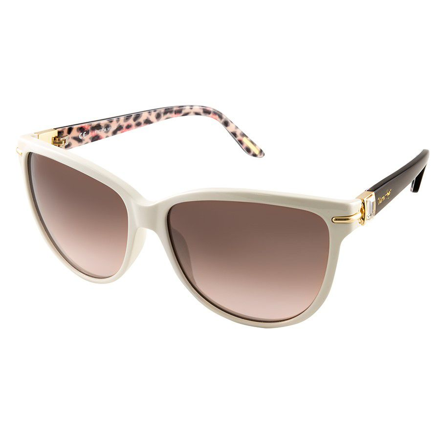 37c890036 Óculos de Sol Victor Hugo SH1661S Acetato Feminino Visolux Web ...