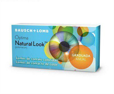 Optima Natural Look - Lentes com Grau