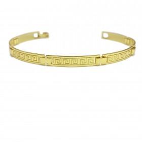 Bracelete Medusa 5mm (Banho Ouro 24k)