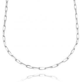 Choker Carrier Diamantada 3mm (Banho Prata 925)