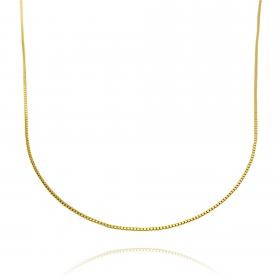 Colar Veneziana 50cm (Banho Ouro 24k)