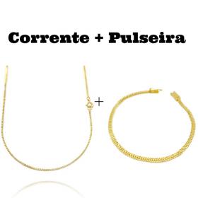 kit Pulseira Grumet Union 3,3mm (Fecho Gaveta) + Pulseira Grumet Union 3,3mm (Fecho Gaveta)