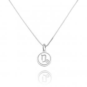 Pingente Signo Capricórnio (1,4cmX1,2cm) (Prata 925 Maciça)